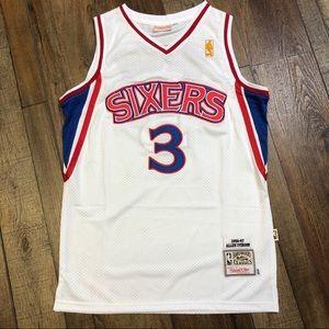 4b8ffa1fa06 NEW Allen Iverson Philadelphia 76ers NBA Jersey